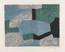 Serge Poliakoff - Composition grise, verte et bleue