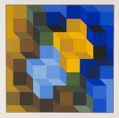 Victor Vasarely - Hommage � l'Hexagone
