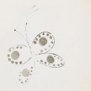 Andy Warhol - Butterfly with Dots
