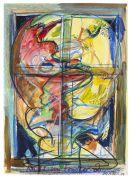 Dieter Roth - Kuss im Fenster 2