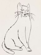 Andy Warhol - Sam sitting