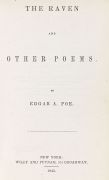 Edgar Allen Poe - The Raven and other Poems. 1845