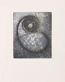 Max Ernst - Hölderlin, Poèmes. 1961.
