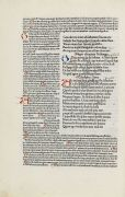 - Terentius, Comoediae 1485 - Horatius, Opera 1498, 2 Werke in 1 Bd.