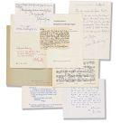 Musik - Sammlung Musiker-Autographen und -Widmungsexemplare, 1959-1995.