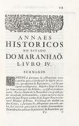 Bernardo Pereira de Berredo - Annaes historicos do Estado do Maranhao. 1749