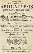Hermogenes - 3 Werke. 3 Bde.