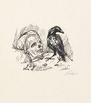 Alfred Kubin - 10 kleine lithografische Zeichnungen von Alf. Kubin.