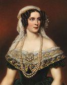 Joseph Karl Stieler - Königin Therese von Bayern