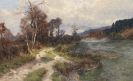Jacques Matthias Schenker - Isartal im Herbst