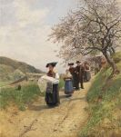 Friedrich Kallmorgen - Der Taufgang