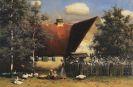 Paul Wilhelm Keller-Reutlingen - Sommeridylle hinterm Haus