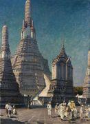 Erich Kips - Wat Arun, der Tempel der Morgenröte in Bangkok, Thailand