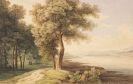 Ferdinand (von) Kobell - Mittelrheinische Flußlandschaft