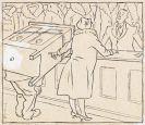 Thomas Theodor Heine - 3 Bll.: Im Warenhaus. Friedensapostel. Gefangener mit Matrose