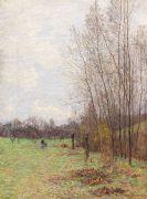 Paul Baum - Waldrand im Vorfrühling (wohl bei Goppeln)