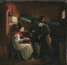 Philipp von Foltz - Besuch des Jägers