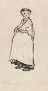 Heinrich Zille - Schwangere