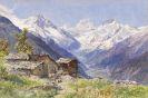 Edward Theodore Compton - Die Alpe Barneuza (Wallis)