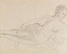 Raoul Dufy - Nu couché