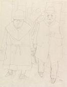 George Grosz - Ehepaar (Spaziergang)