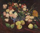 Franz Heckendorf - Stillleben mit Blumen und Früchten