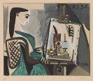 Pablo Picasso - Femme dans l'Atelier