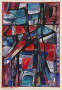 Albert Birkle - Abstrakte Komposition