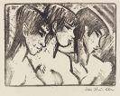 Otto Mueller - Drei Mädchen im Profil