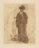 Emil Nolde - Dame