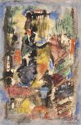 Hans Reichel - Komposition Schwarz-weiß-gelb