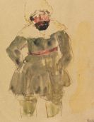 Emil Nolde - Stehender Sibirier