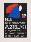 Wassily Kandinsky - Kleines Plakat für die erste Ausstellung der