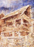 Christian Rohlfs - Haus in Bosco