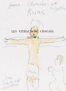 Marc Chagall - Offrande au Christ en croix