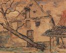 Christian Rohlfs - Haus in Soest (vom Garten gesehen)