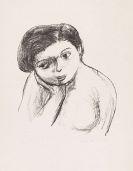 Zao Wou-Ki - Portrait de fillette