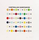 Damien Hirst - Controlled Substance Spot print