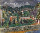 Hans Purrmann - Hügellandschaft auf Ischia