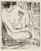 Ernst Ludwig Kirchner - Aktstudie