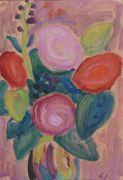 Alexej von Jawlensky - Blumenstrauss in Vase