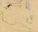 Ernst Ludwig Kirchner - Zwei liegende Akte
