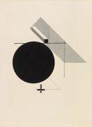 El Lissitzky - Proun IV - Blatt  4 der I. Kestnermappe, Proun