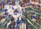 Christian Rohlfs - Blaue Magnolie
