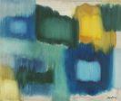 Fritz Winter - Blau und Gelb