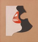 Tom Wesselmann - Untitled (Study for Face #1)