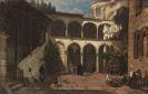 Julius Zielke (Zielcke) - Im römischen Klosterhof
