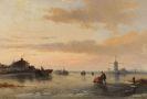 Carl Hilgers - Wintervergnügen auf dem Eis
