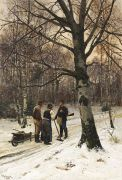 Kallmorgen, Friedrich - Wald im Winter