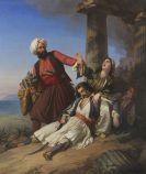 Jacobs, Paul Emil - Szene aus dem Griechischen Freiheitskampf